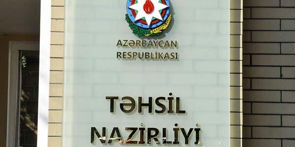 Təhsil Nazirliyi: Bu göstəricinin 2020-ci ildə 90 faizə çatdırılması nəzərdə tutulur