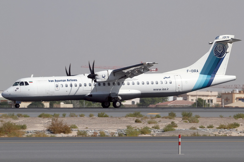 Image result for Aseman Airlines ATR 72-500