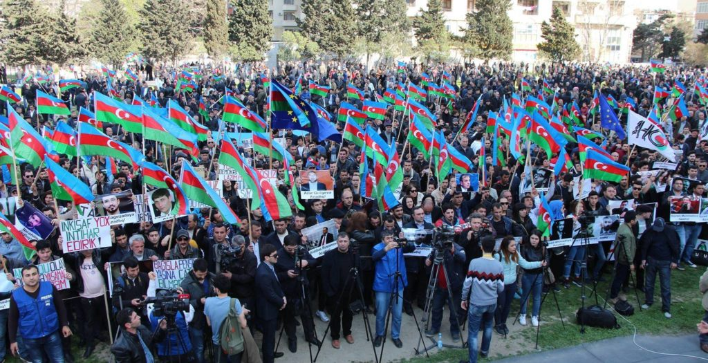 Qarabağ Komitəsi mitinq üçün BŞİH-ə müraciət göndərdi