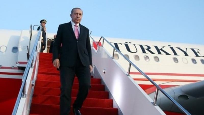 Türkiyə prezidenti Nyu-Yorka səfər edib