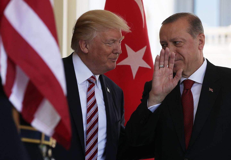 """Tramp: """"ABŞ və Türkiyə əla münasibətlər qura bilərlər"""""""