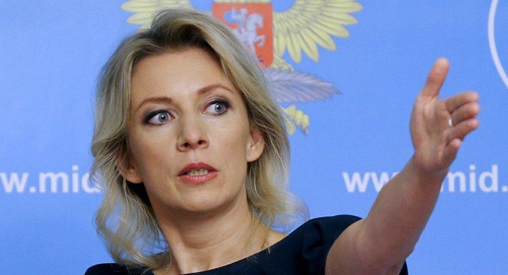 Mariya Zaxarova ile ilgili görsel sonucu