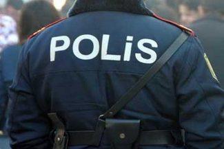Polis əməkdaşına hücum olub