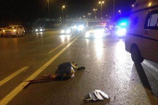 Bakıda maşının vurduğu qadın küçədə can verdi – DƏHŞƏTLİ VİDEO