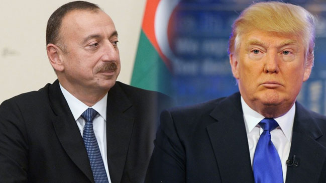 Image result for trump ilham aliyev