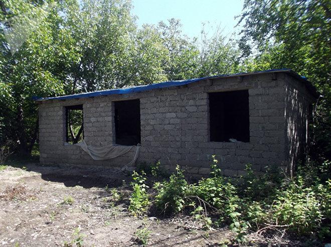 Vəfa xanımın tikintisi yarımçıq qalmış evi