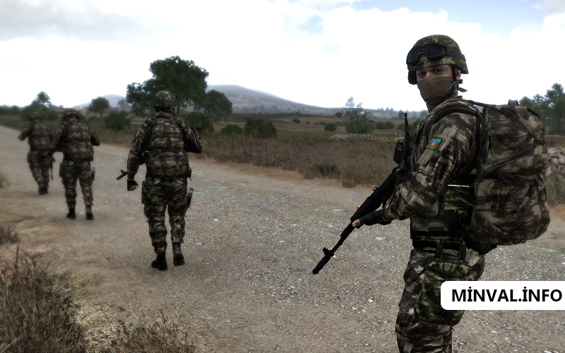 Azərbaycan ordusu Naxçıvan istiqamətində yenə irəliləyib, bütün strateji yü ...