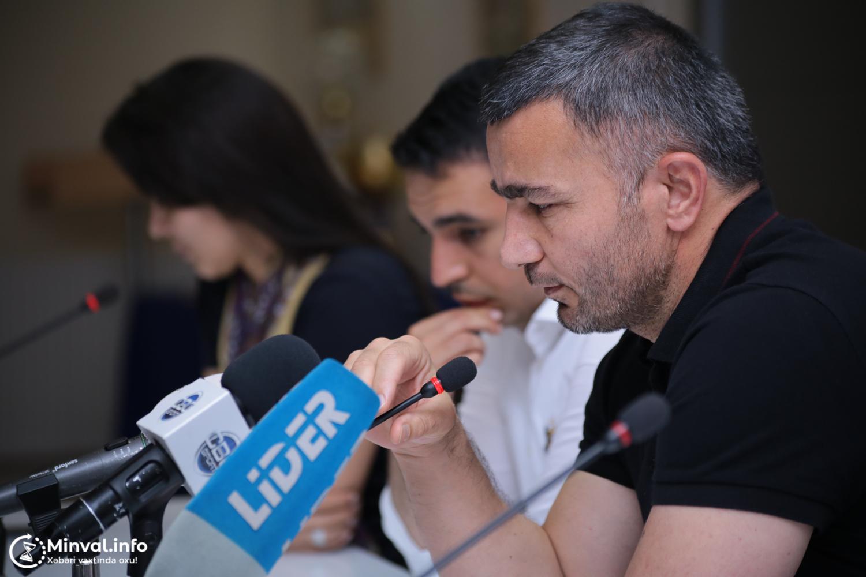 """Qurbanov oyunla bağlı sualları cavablandırdı: """"Futbolçularımı nə qədər müda ..."""