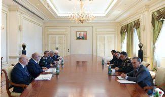 Prezident İlham Əliyev hüquq–mühafizə orqanlarının rəhbərlərini topladı – FOTO