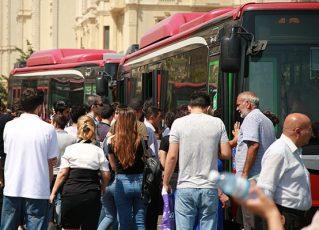 Bakıda 11 avtobusun hərəkət istiqaməti dəyişdiriləcək – Siyahı