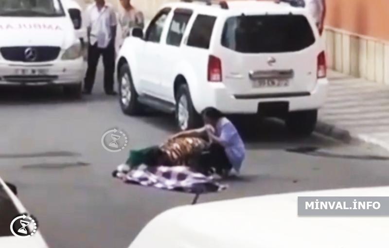 Gənc oğlan özünü balkondan aşağı ataraq intihar etdi – Azərbaycanda (ŞOK VİDEO)