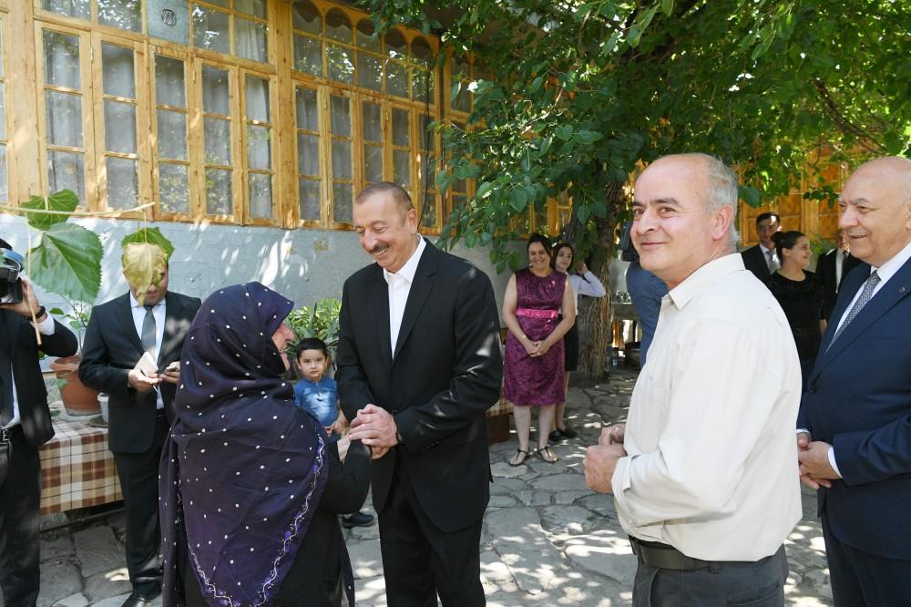 """İstəyirdim əliboş gəlməyim…"""" – Prezident İlham Əliyev"""
