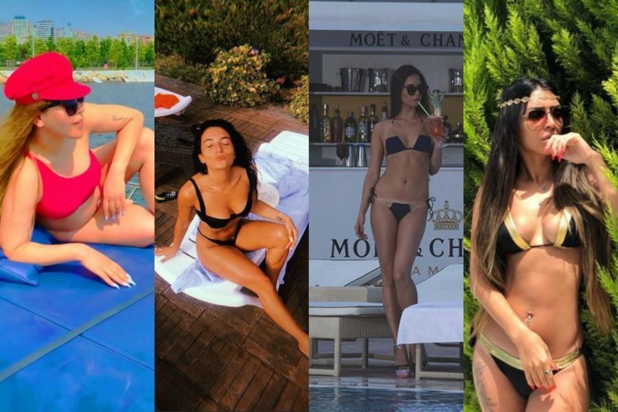 Şou-biznesin bikinili xanımları