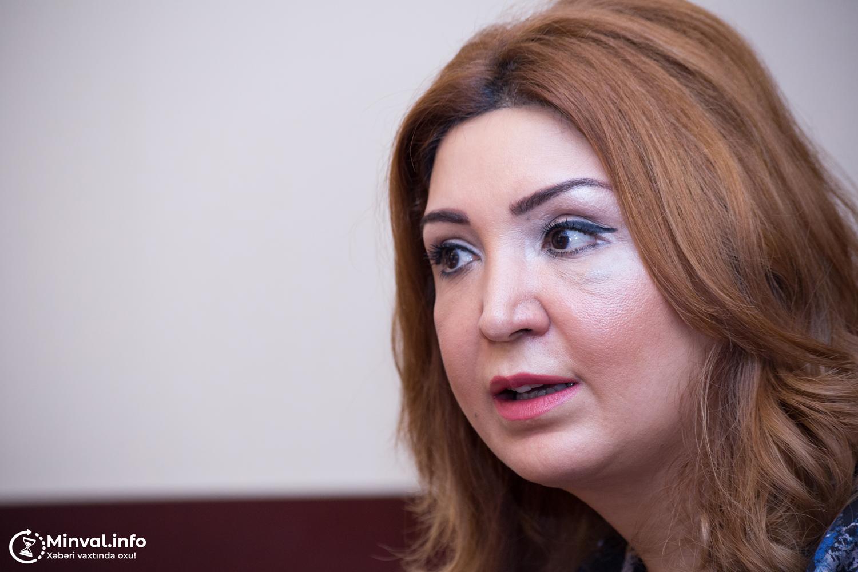 """Aynur Camal: """"Biz media olaraq Milli Məclisə müraciət etməliyik ki, deputatlarımız…"""""""