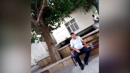 """""""Hacı Mazan"""" polis bölməsində – VİDEO"""
