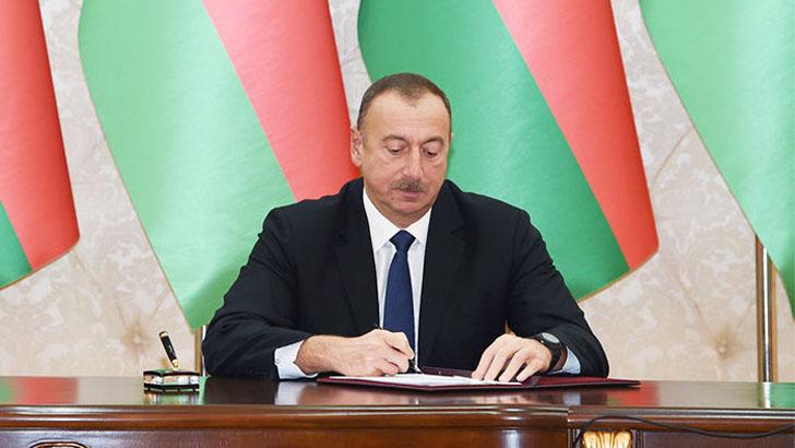 Prezident İlham Əliyev 3 sərəncam imzaladı