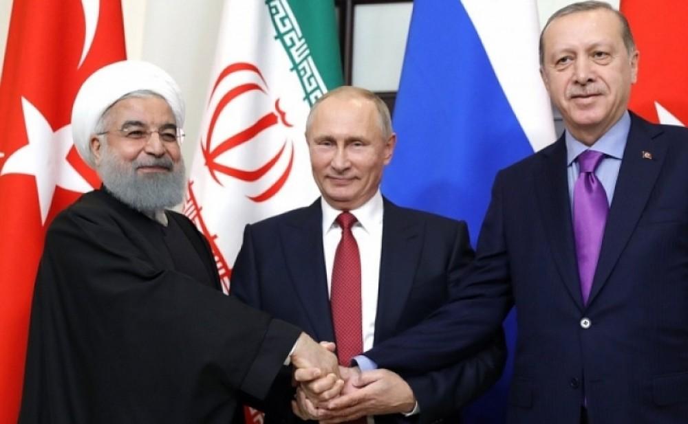 Bu gün Tehranda İran, Türkiyə və Rusiya prezidentlərinin zirvə görüşü keçiriləcək