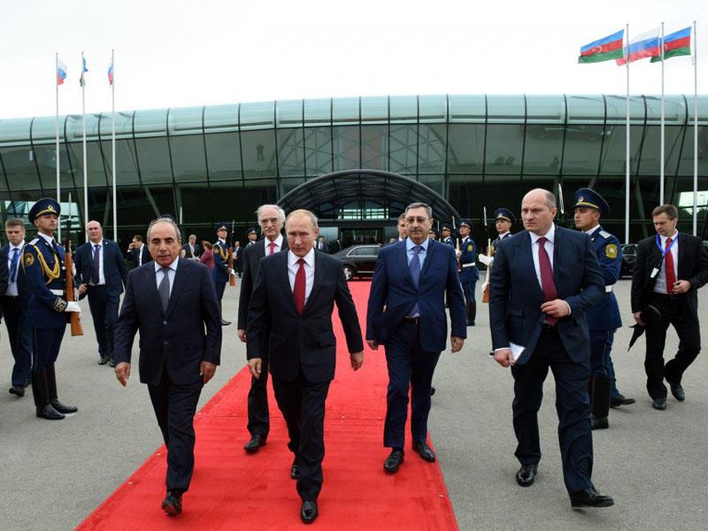 Putinin Azərbaycana işgüzar səfəri başa çatdı