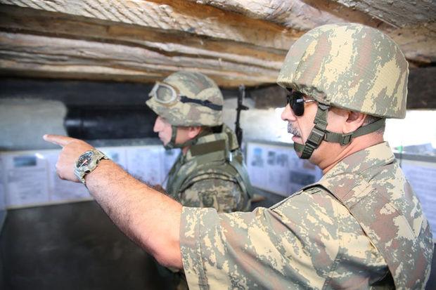 Zakir Həsənov orduya tapşırıqlar verdi – FOTO