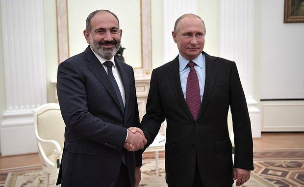 Paşinyan Putini Ermənistanın daxili işlərinə qarışmamağa çağırdı