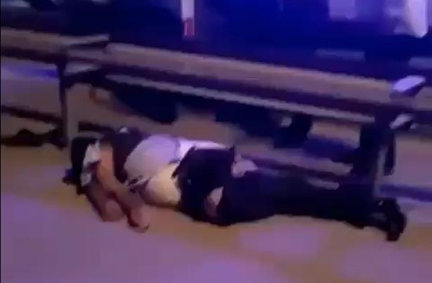 Bakıda maşın piyadanı vurdu – Hadisə yerindən dəhşətli görüntülər (Video)