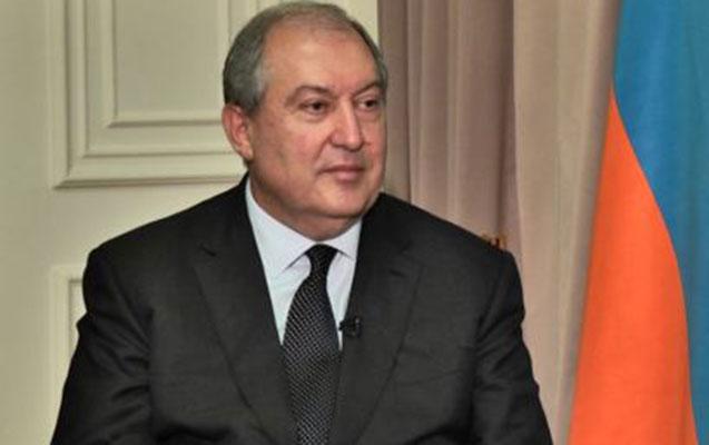 Sarkisyan Qarabağa gəldi