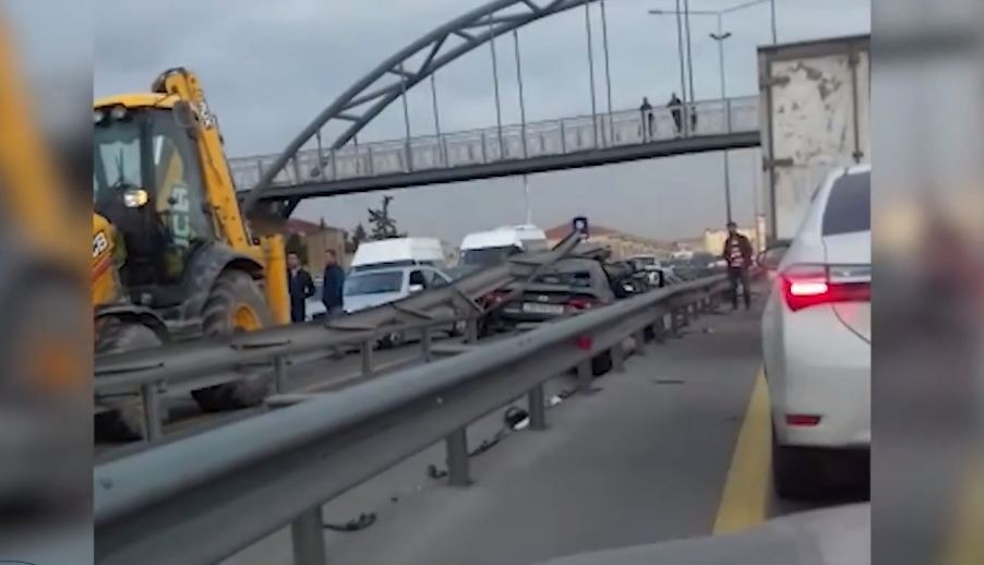 Bakıda ağır qəza – yol polisinin oğlu öldü – VİDEO