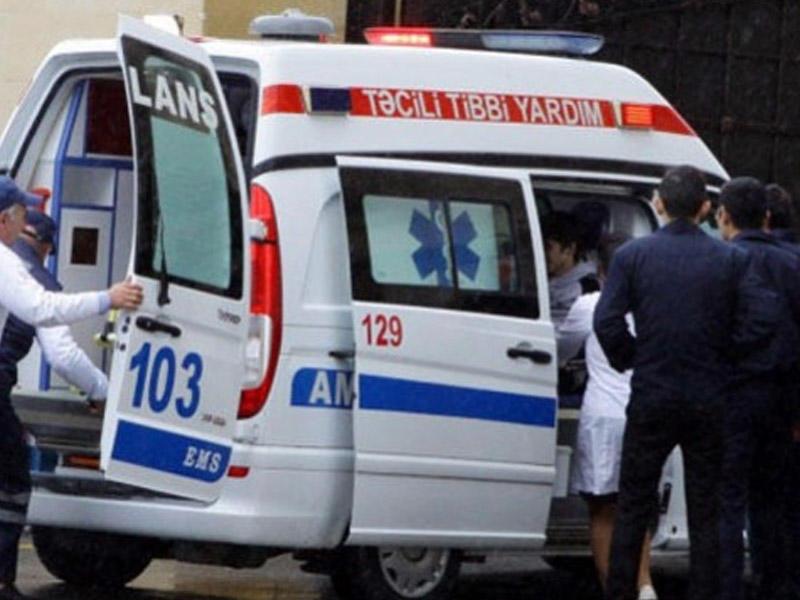Bakıda partlayış: İki nəfər yaralandı