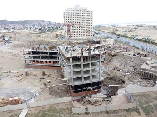 Jurnalistlər üçün tikilən üçüncü binada son vəziyyət