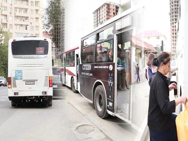 Bakıda avtobusların sayının azaldılması narazılığa səbəb oldu – VİDEO