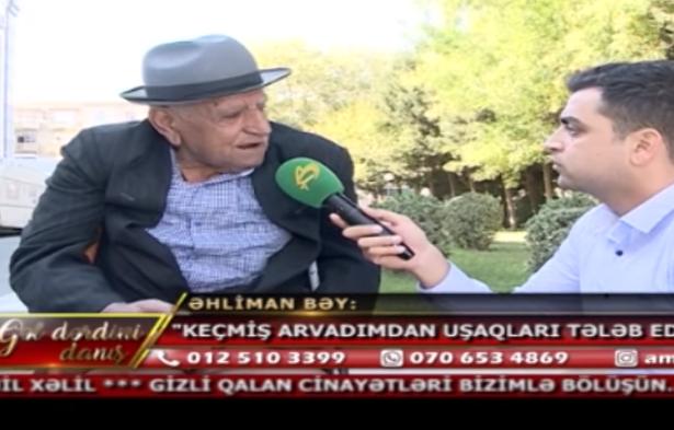 """""""3 Oğul böyütdüm heç biri məni evə buraxmır"""" – Lerikdən ata fəryadı"""