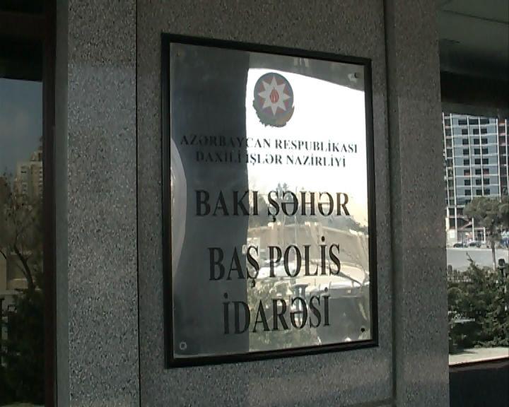 Bakı Şəhər Baş Polis İdarəsi dəhşətli statistika açıqladı