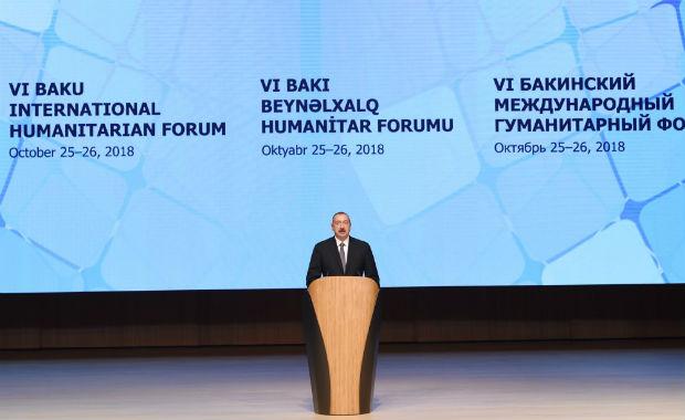 """""""Azərbaycan heç vaxt işğalla barışmayacaq"""" — Prezident İlham Əliyev"""