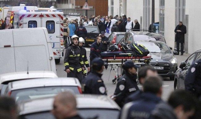 Parisin mərkəzində silahli insident: Yaralılar var
