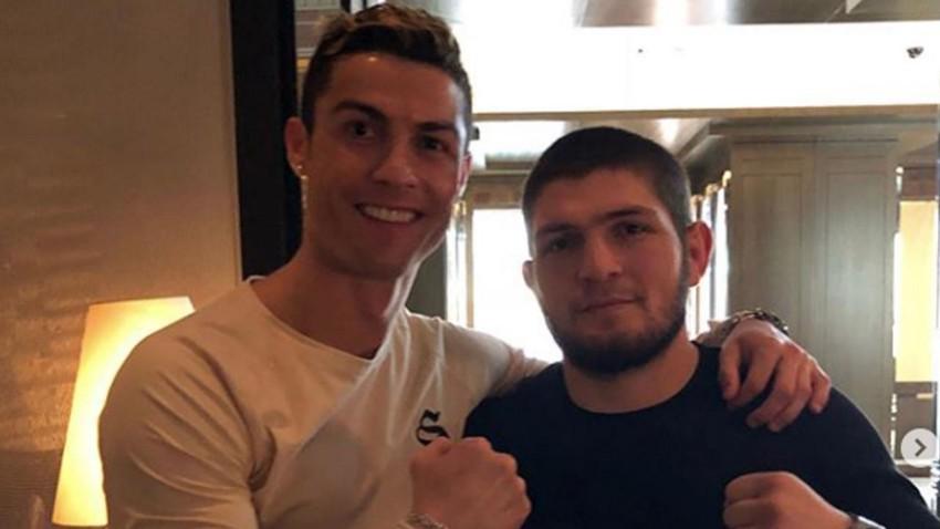 Həbiblə Ronaldonun bu görüntüləri sosial şəbəkələrdə rekord qırır – VİDEO