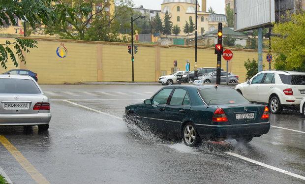 Hava ilə bağlı sürücülərə — XƏBƏRDARLIQ