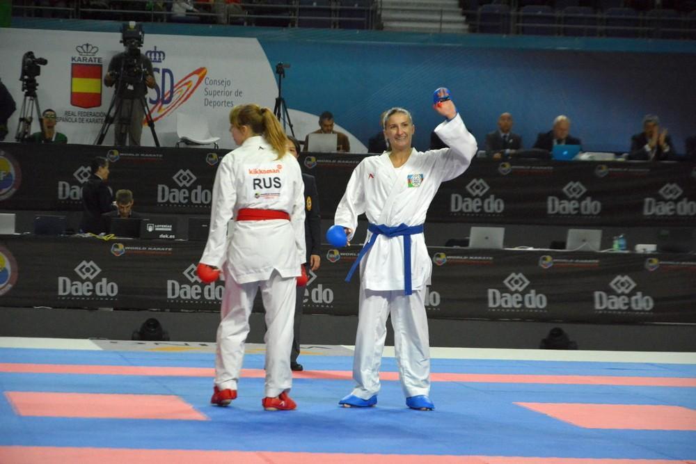 Xanım karateçimiz dünya çempionu oldu