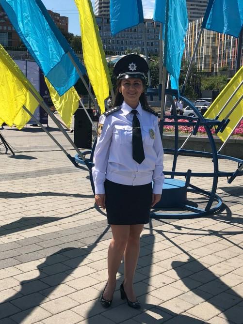 Ukraynada polis rəisi olan azərbaycanlı xanım… – FOTO