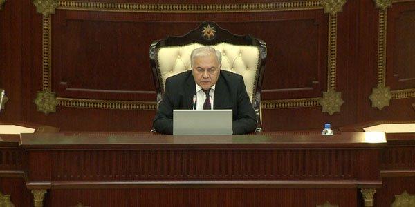 Milli Məclisin sədri deputatlara xəbərdarlıq etdi