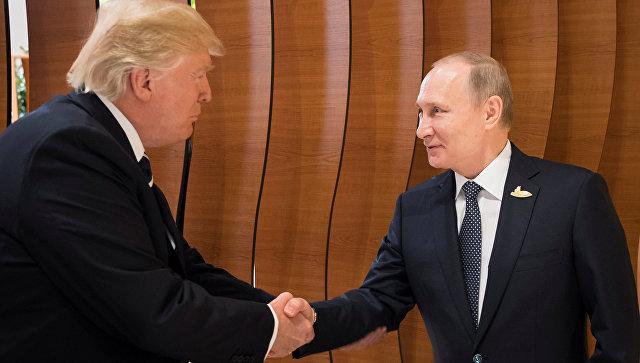 Putin və Tramp görüşdü