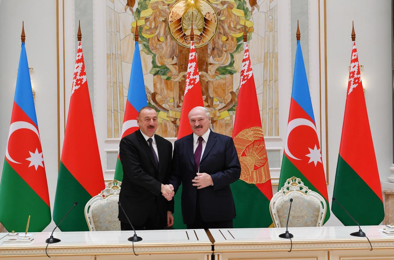 Prezident İlham Əliyev Belarusda mühüm açıqlamalar verdi