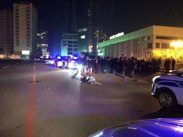 Bakıda maşın piyadaları vurdu: ölən var – FOTO