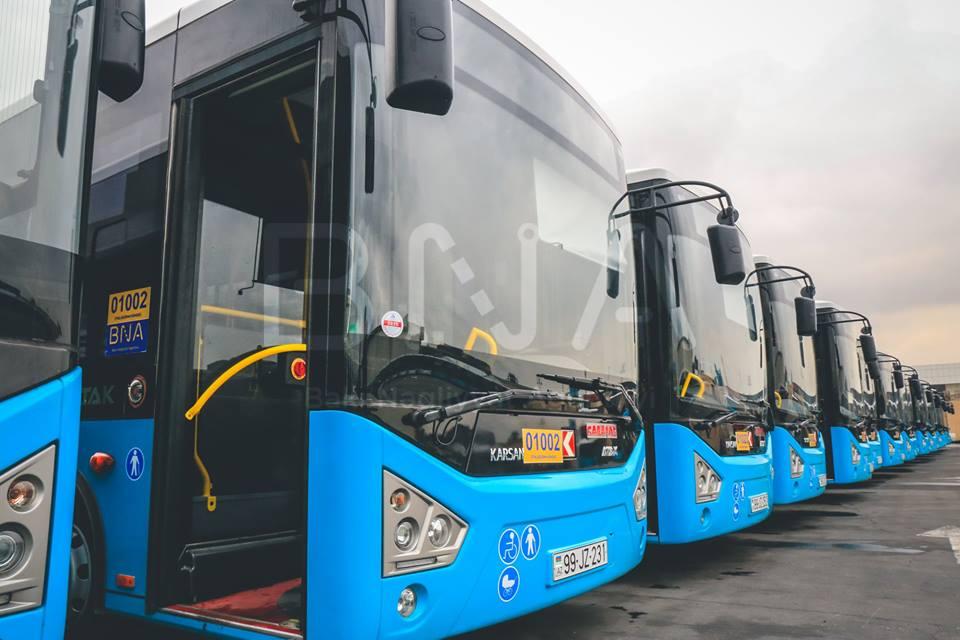 Binədəki qəzadan sonra 160-ın avtobusları dəyişdi – Fotolar