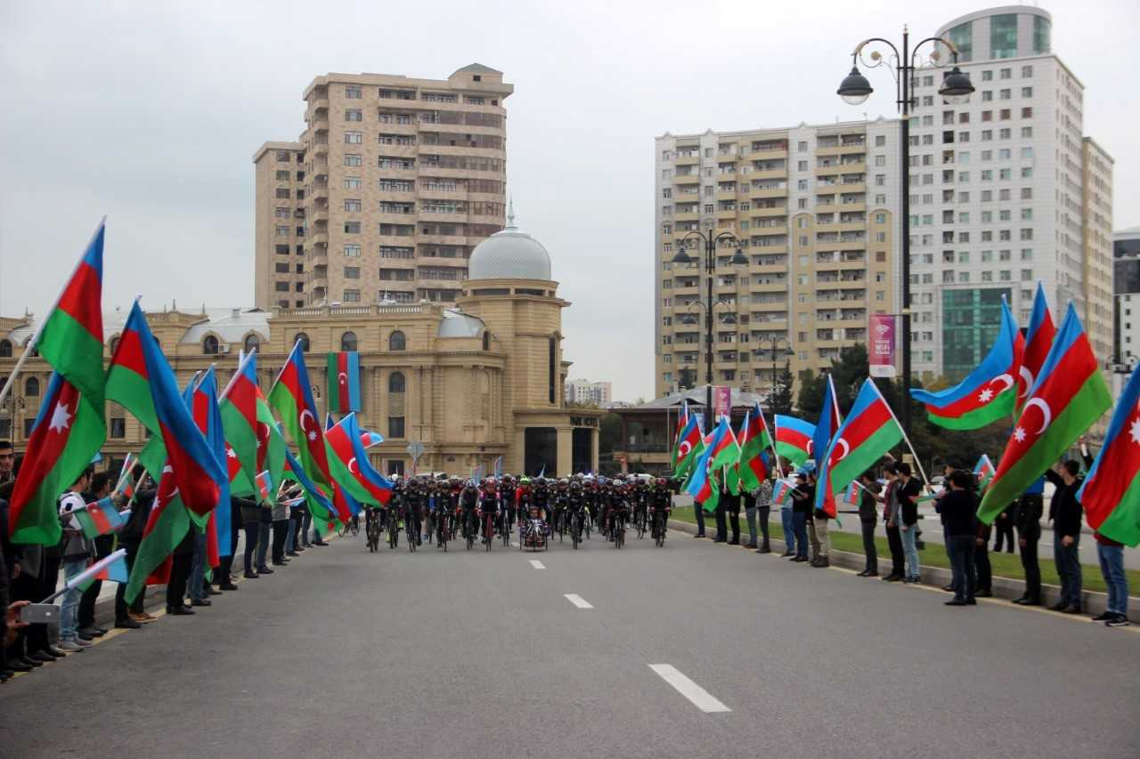 Mədət Quliyev veloyürüşdə iştirak etdi – FOTOLAR