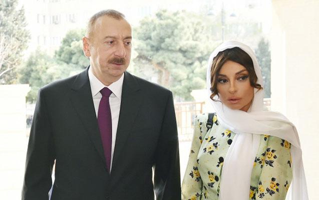 Prezidentlə birinci xanım Pənahovanın vida mərasimi ilə bağlı tapşırıq veri ...