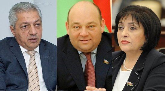 Üç deputata yeni vəzifə verilir – FOTO