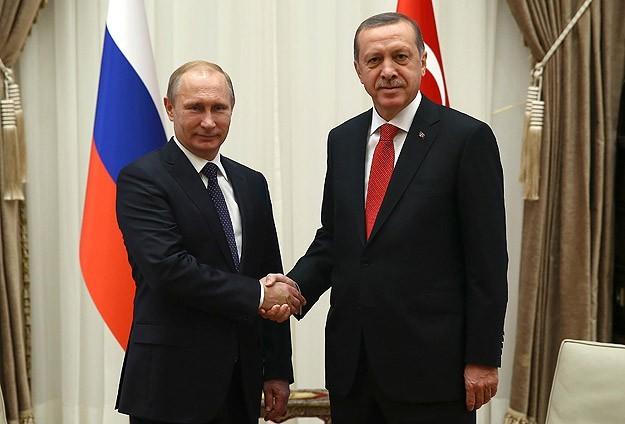 Putin problemli məsələlərin həllinə görə Ərdoğana təşəkkür edib