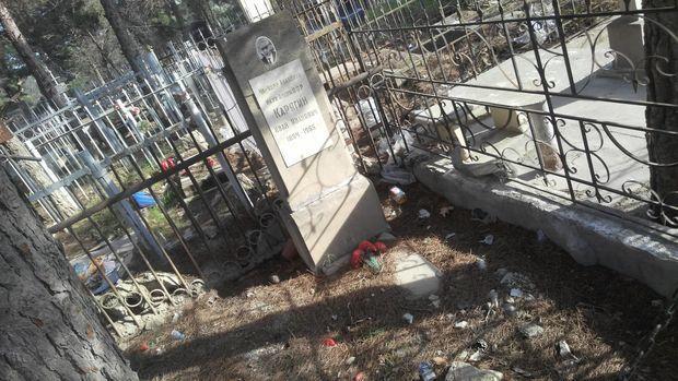 Dünya şöhrətli alimin Bakıdakı məzarında acınacaqlı mənzərə – FOTO