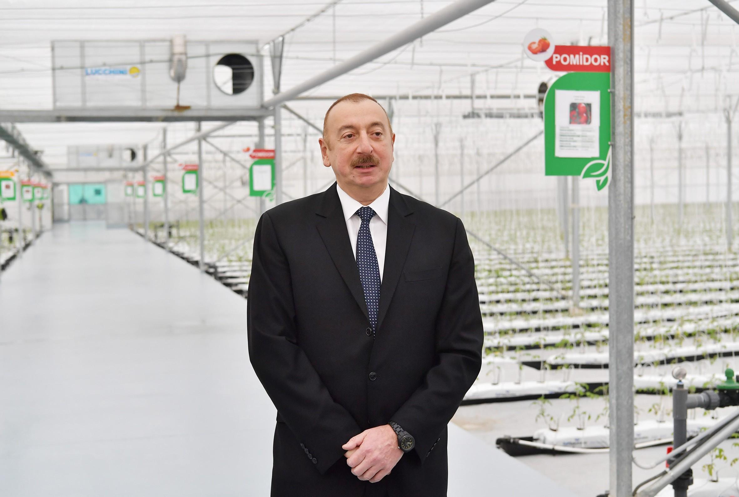"""Prezident: """"Biz istehsalı ildən-ilə artırırıq"""""""