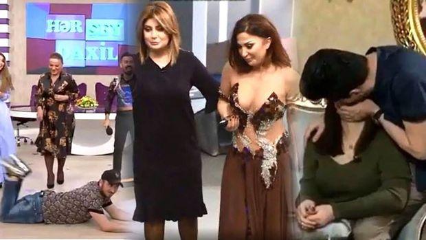 MTRŞ Sərxan Kərəmoğlunun qadın qonaqları öpüb, qucağına götürməsini pisləyib